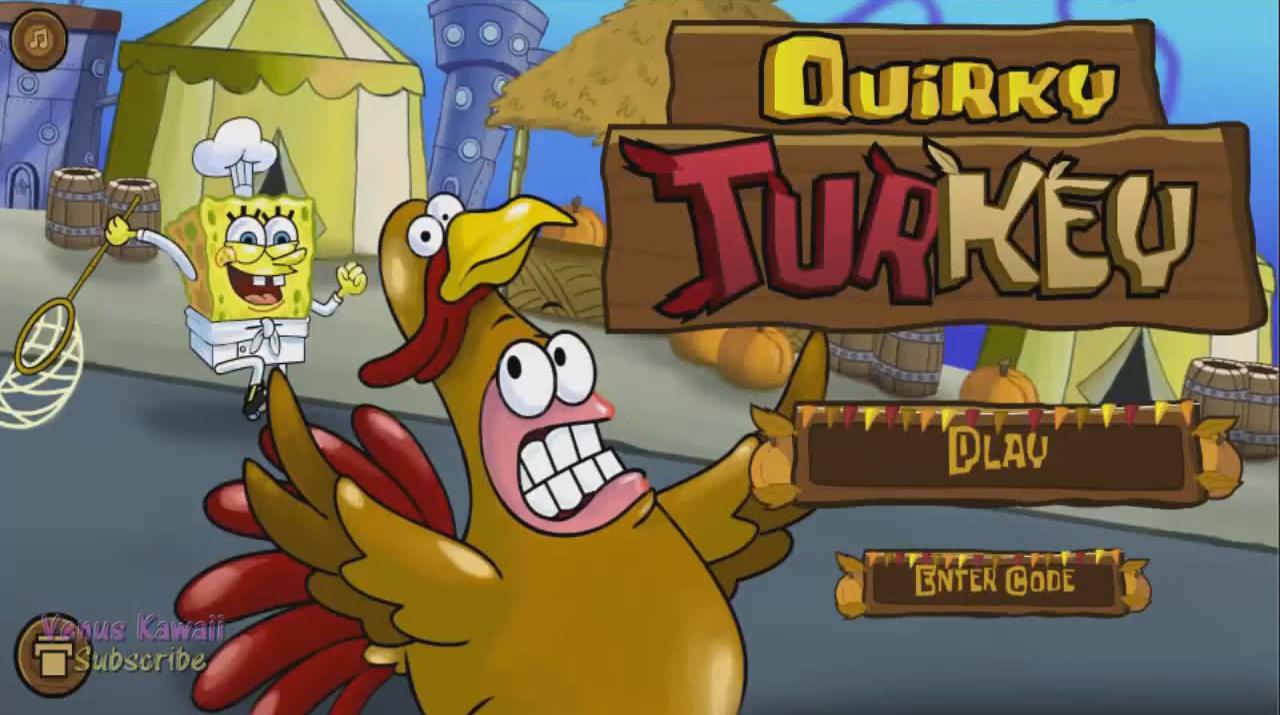 SpongeBob SquarePants: Quirky Turkey (Online Games
