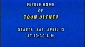 Launch of Toon Disney - April 18, 1998