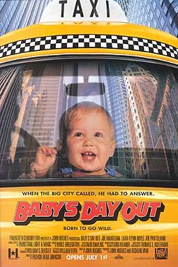 Babys day out poster