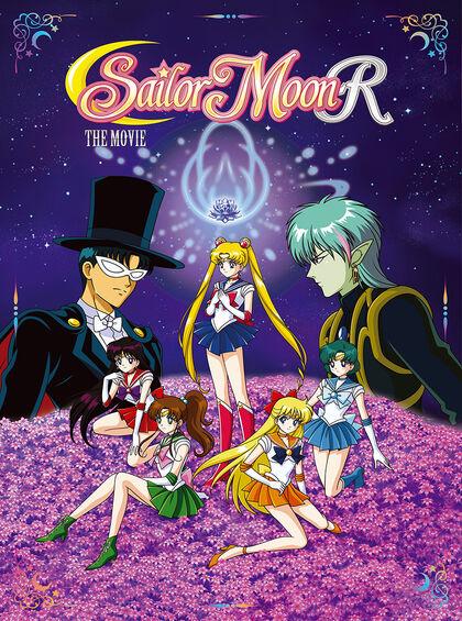 Sailor Moon R Movie Cover