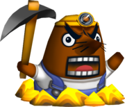 Animal Crossing - Resetti Character Portrait