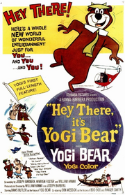 Hey There, It's Yogi Bear Poster
