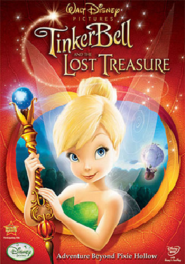 Tinker bell and the lost treasure dvd cover