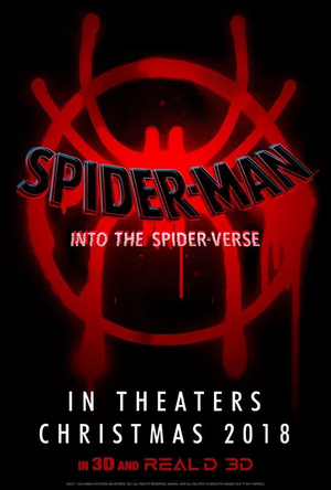 Spiderman into the spider-verse poster