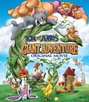 Tom and jerry's giant adventure dvd cover