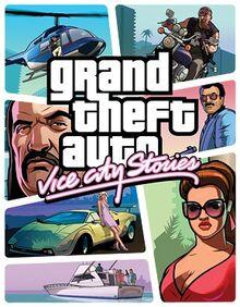 GTA Vice City Stories PSP boxart