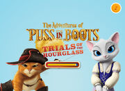 The Adventures of Puss in Boots Trials of the Hour Glass