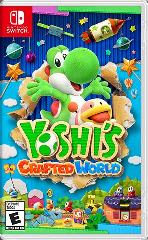 Yoshi's Crafted World - Boxart