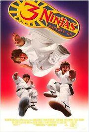 3 ninjas knuckle up poster