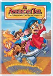 An american tail the mystery of the night monster vhs cover