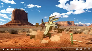 Geico Commercial Road Runner and Wile E Coyote Sound Ideas, CARTOON, SKID - SHORT, LOW SKID and Sound Ideas, SKID, CARTOON - BROKEN SKID,