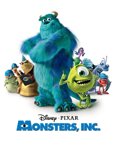 Monsters Inc Cover
