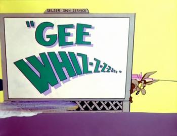 Gee Whiz-z-z-z (Title Card)