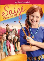 An American Girl Saige Paints the Sky Cover