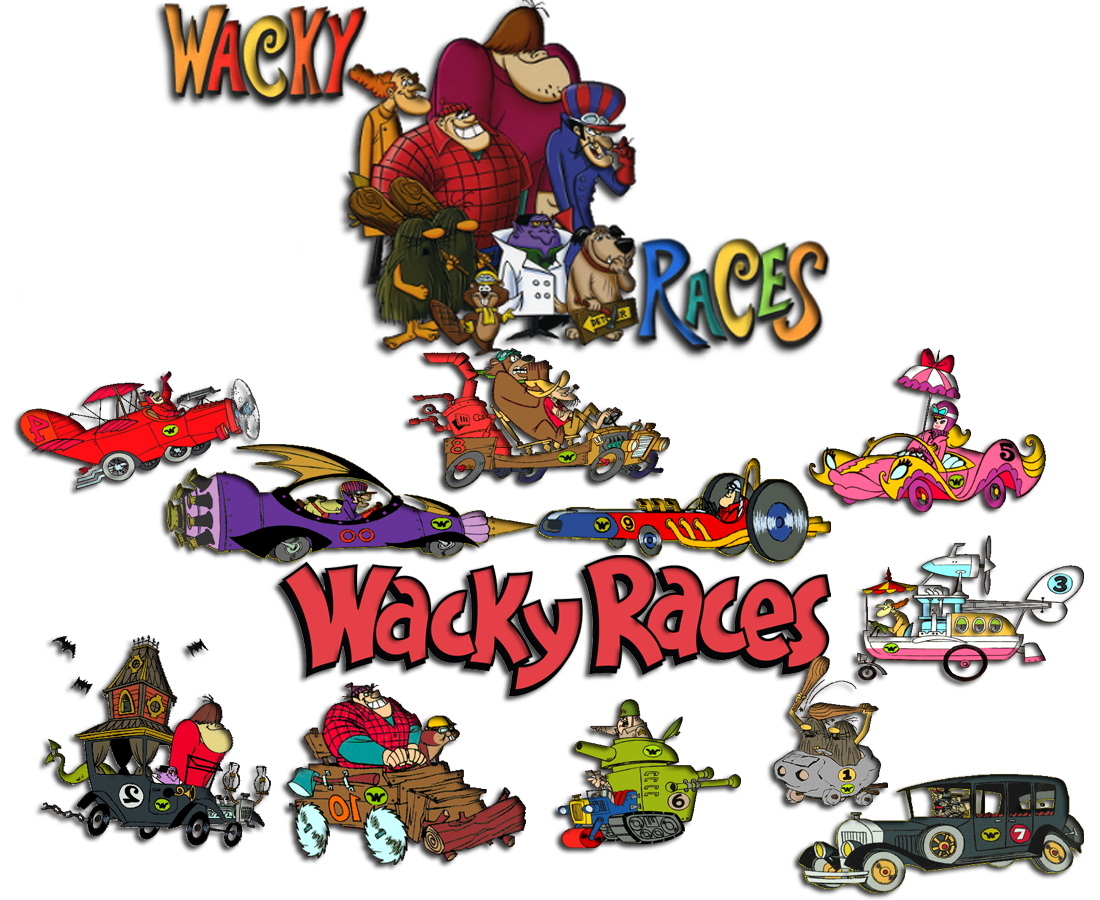 wacky races 1968 tv series soundeffects wiki fandom powered by