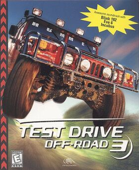 TestDriveOff-Road3 CoverArt