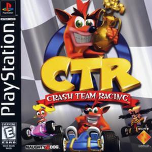 Crash Team Racing PS1 Box Art