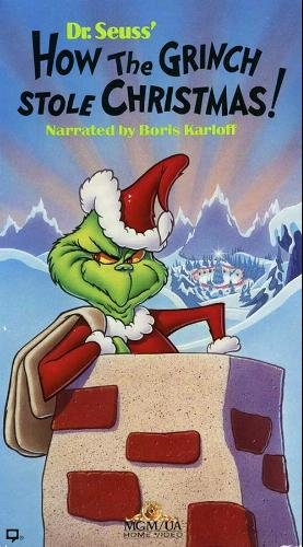 How The Grinch Stole Christmas 1966 Movie Poster.Dr Seuss How The Grinch Stole Christmas 1966