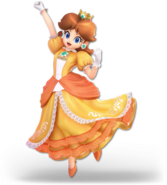 Super Smash Bros Ultimate - Princess Daisy Character Portrait