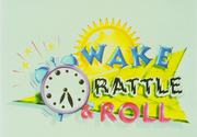 Wake rattle and roll logo