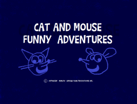 Cat And Mouse Funny Adventures Logo