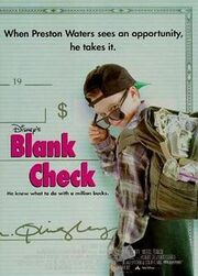 Blank Check film poster