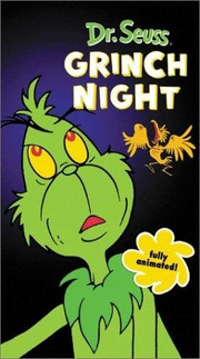Halloween is grinch night vhs cover