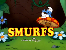 The smurfs tv series title