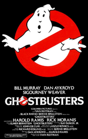 Ghostbusters 1984 poster