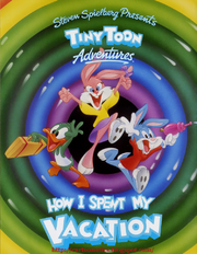 Tiny toon adventures how i spent my vacation cover