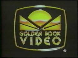 Golden book video logo