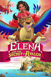 Elena and the Secret of Avalor DVD Cover