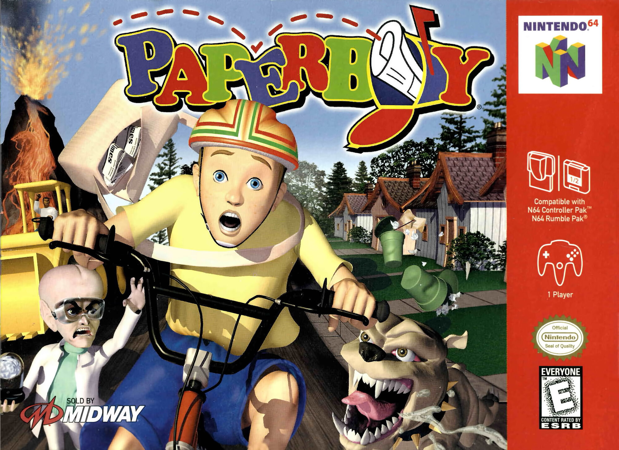 Paperboy 64   Soundeffects Wiki   FANDOM powered by Wikia