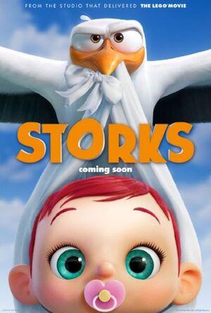 Storks (film) poster
