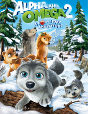 Alpha and omega 2 a howl-iday adventure cover
