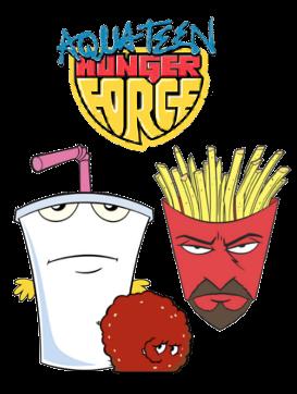 Aqua Teen Hunger Force Cover