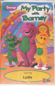 My Party with Barney Cover
