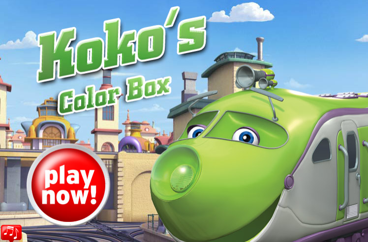 Chuggington: Koko's Color Box (Online Games ...