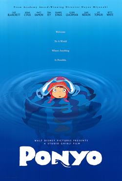 Ponyo 2009 Poster