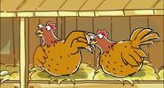 Sound Ideas, BIRD, CHICKEN - SINGLE CHICKEN CLUCKING, ANIMAL