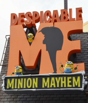 Despicable Me Minion Mayhem Logo