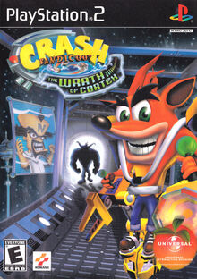 Crash Bandicoot The Wrath of Cortex Box Art