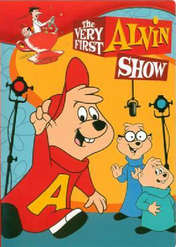The alvin show dvd cover