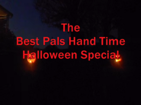 The Best Pals Hand Time Halloween Special (2014) Title Card