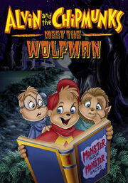 Alvin And The Chipmunks Meet The Wolfman DVD Cover