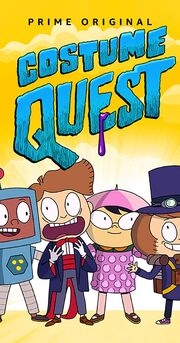 Costume Quest TV Series Poster