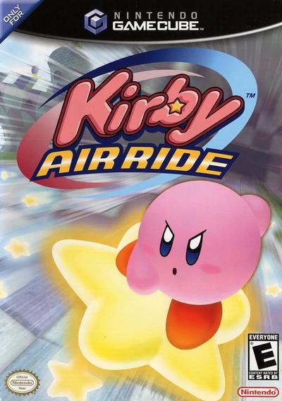 Kirby - Air Ride Box Art