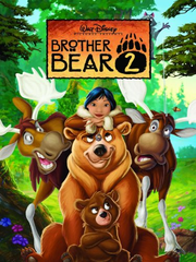 Brother bear 2 dvd cover