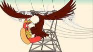 Uncle Grandpa Uncle Grandpa Sitter Bird Hawk Single Scre PE020801 1