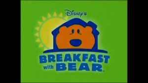 Breakfast with Bear Poster
